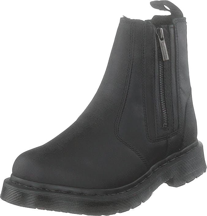 Image of Dr Martens 2976 Alyson W/zips Black, Kengät, Bootsit, Chelsea boots, Musta, Naiset, 37