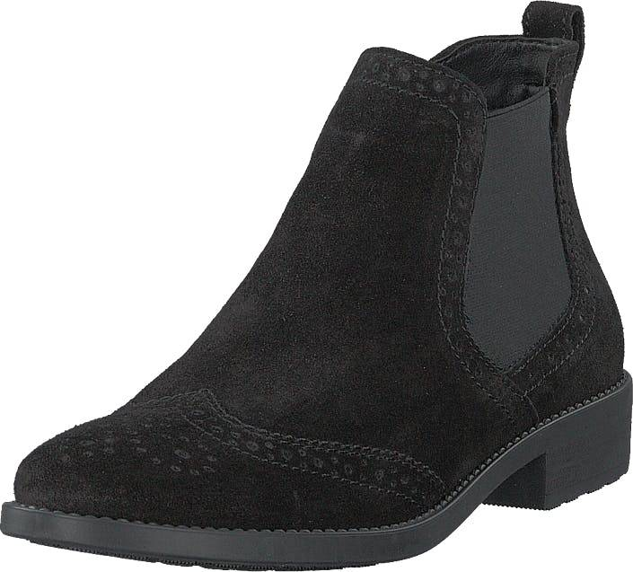 Image of Tamaris 1-1-25493-21 001 Black, Kengät, Bootsit, Chelsea boots, Musta, Naiset, 41