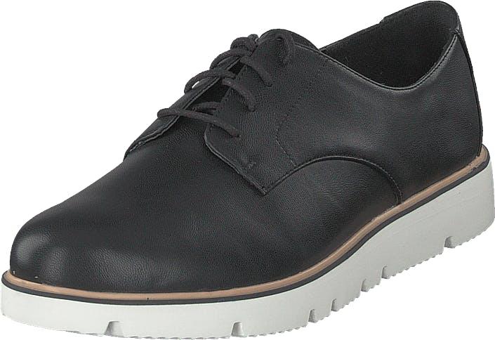 Bianco Bita Derby Laced Up Shoe 100 - Black, Kengät, Matalat kengät, Kangaskengät, Musta, Naiset, 37