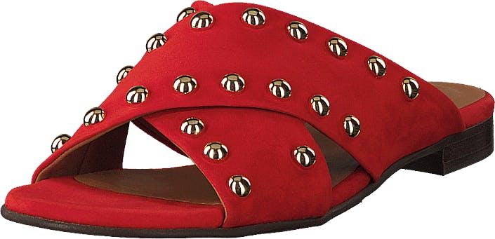 Billi Bi Sandals Summer Red/silver, Kengät, Sandaalit ja tohvelit, Crocsit, Ruskea, Punainen, Naiset, 37