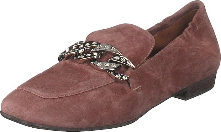 Billi Bi Shoes Dark Bardom Pink/silver, Kengät, Matalapohjaiset kengät, Ballerinat, Vaaleanpunainen, Ruskea, Naiset, 36