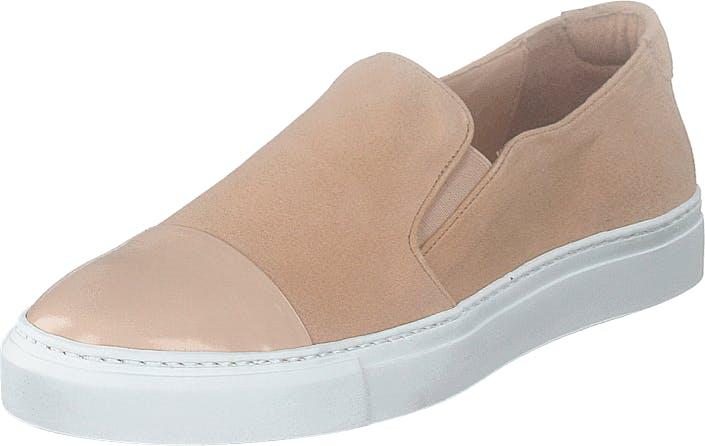 Billi Bi Shoes Rose Polido/suede, Kengät, Matalapohjaiset kengät, Slip on, Beige, Naiset, 39