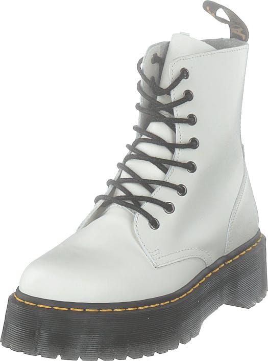 Image of Dr Martens Jadon White, Kengät, Bootsit, Kengät, Valkoinen, Naiset, 39