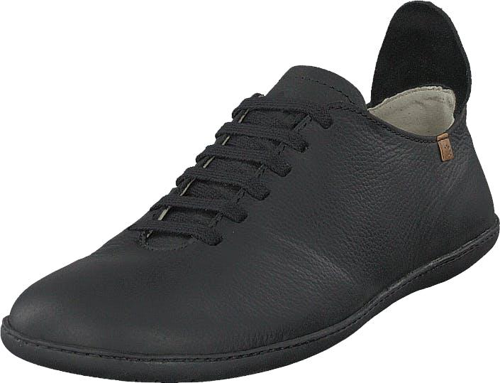 Image of El Naturalista El Viajero Black, Kengät, Sneakerit ja urheilukengät, Varrettomat tennarit, Musta, Naiset, 36