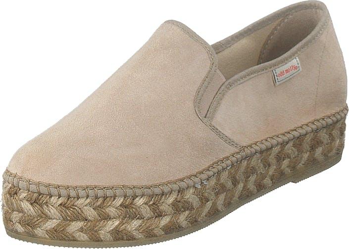 Odd Molly Stepper Espadrillo Sand, Kengät, Matalat kengät, Slip on, Beige, Naiset, 39