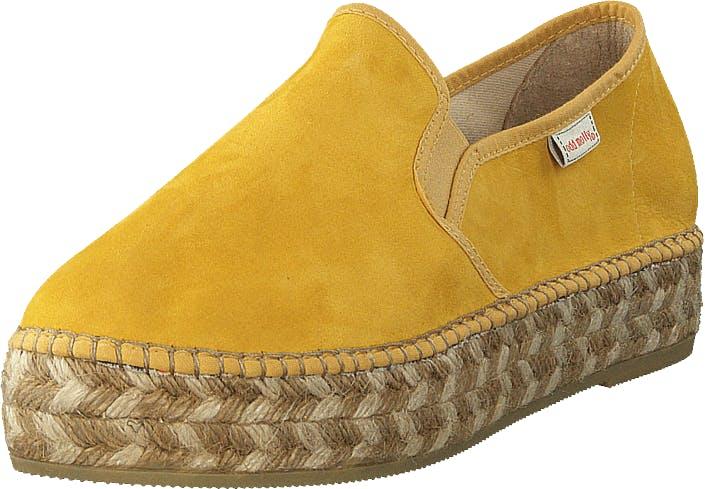 Odd Molly Stepper Espadrillo Warm Yellow, Kengät, Matalat kengät, Slip on, Keltainen, Naiset, 40