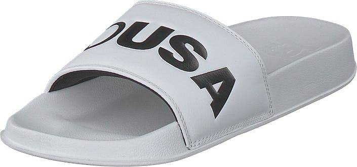 DCShoe Shoes Dc Slide White/black, Kengät, Sandaalit ja Tohvelit, Sandaalit, Valkoinen, Naiset, 39