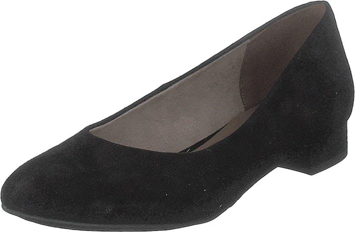 Image of Tamaris 1-1-22104-22 001 Black, Kengät, Matalat kengät, Ballerinat, Musta, Naiset, 38