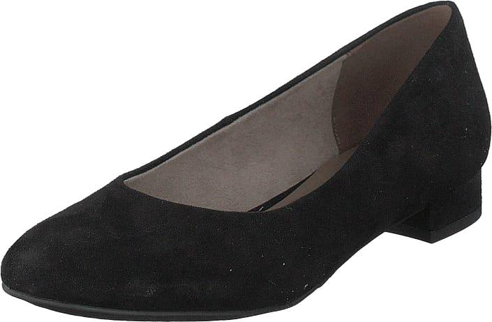 Image of Tamaris 1-1-22104-22 001 Black, Kengät, Matalat kengät, Ballerinat, Musta, Naiset, 37