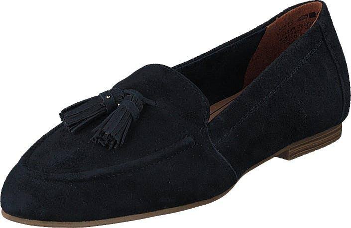 Image of Tamaris 1-1-24206-22 805 Navy, Kengät, Matalapohjaiset kengät, Loaferit, Sininen, Naiset, 36