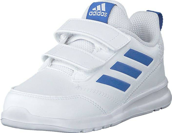 Image of Adidas Sport Performance Altarun Cf I Ftwwht/blue/ftwwht, Kengät, Sneakerit ja urheilukengät, Urheilukengät, Valkoinen, Lapset, 21