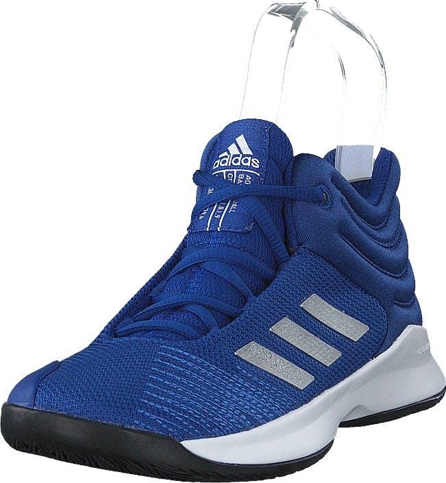 Adidas Sport Performance Pro Spark 2018 K Croyal/silvmt/cblack, Kengät, Sneakerit ja urheilukengät, Urheilukengät, Musta, Lapset, 28