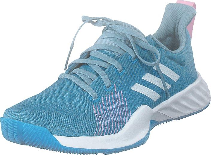 Image of Adidas Sport Performance Solar Lt Trainer W Ashgre/ftwwht/trupnk, Kengät, Sneakerit ja urheilukengät, Urheilukengät, Turkoosi, Naiset, 37