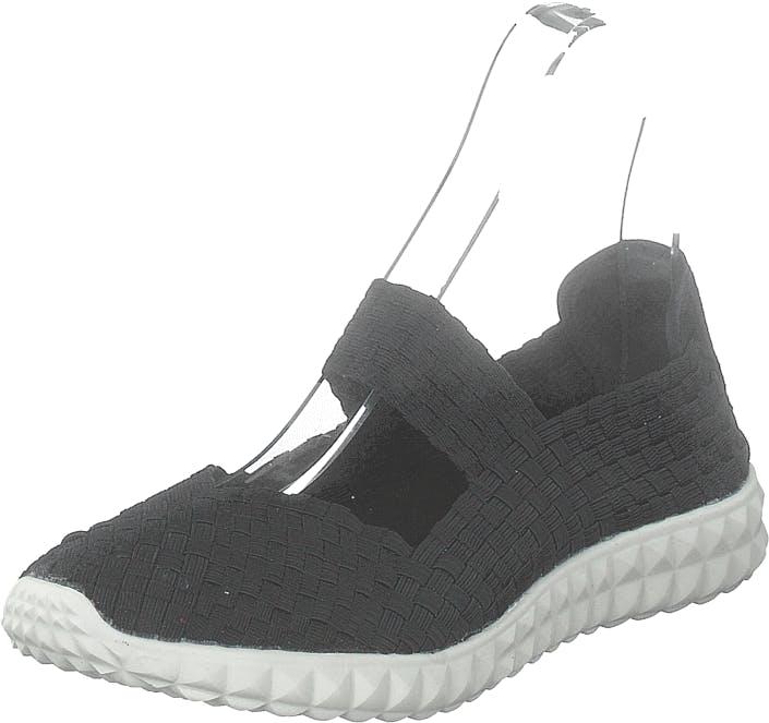 Rock Spring Nyc Black/white, Kengät, Matalapohjaiset kengät, Slip on, Musta, Naiset, 37