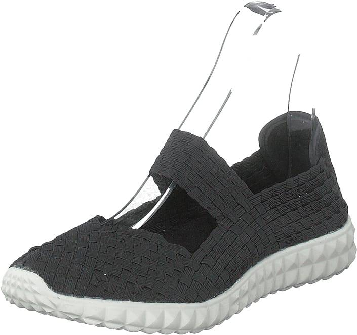 Rock Spring Nyc Black/white, Kengät, Matalapohjaiset kengät, Slip on, Musta, Naiset, 36