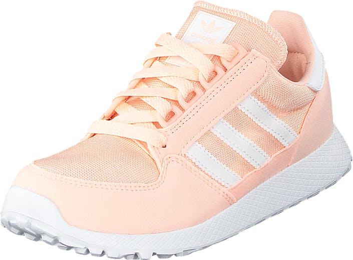 Image of Adidas Originals Forest Grove C Cleora/ftwwht/cleora, Kengät, Sneakerit ja urheilukengät, Urheilukengät, Valkoinen, Lapset, 33