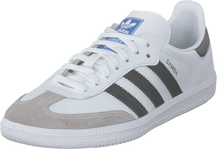 Image of Adidas Originals Samba Og C Ftwwht/cblack/cgrani, Kengät, Sneakerit ja urheilukengät, Sneakerit, Valkoinen, Lapset, 33