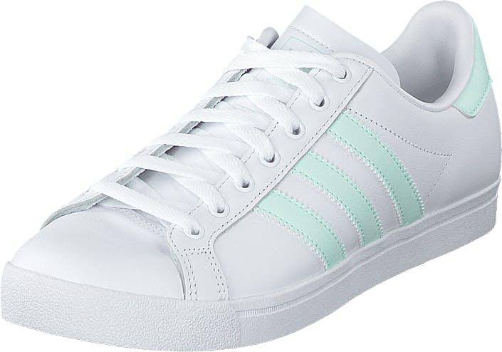 Adidas Originals Coast Star W Ftwwht/icemin/ftwwht, Kengät, Sneakerit ja urheilukengät, Varrettomat tennarit, Valkoinen, Naiset, 38