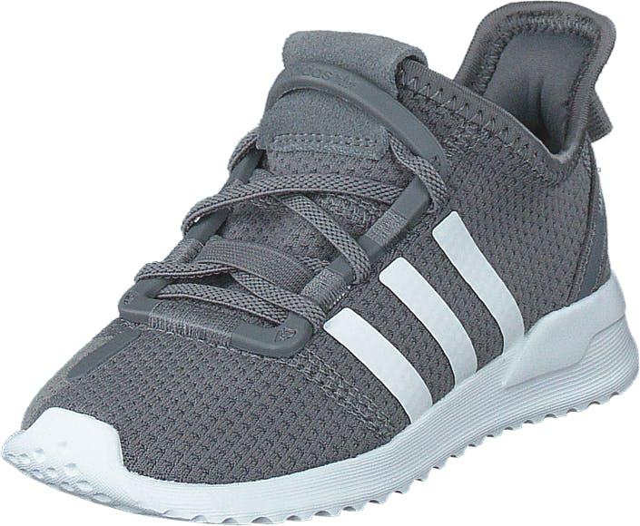 Image of Adidas Originals U_path Run El I Grey/ftwwht/onix, Kengät, Sneakerit ja urheilukengät, Urheilukengät, Harmaa, Lapset, 27