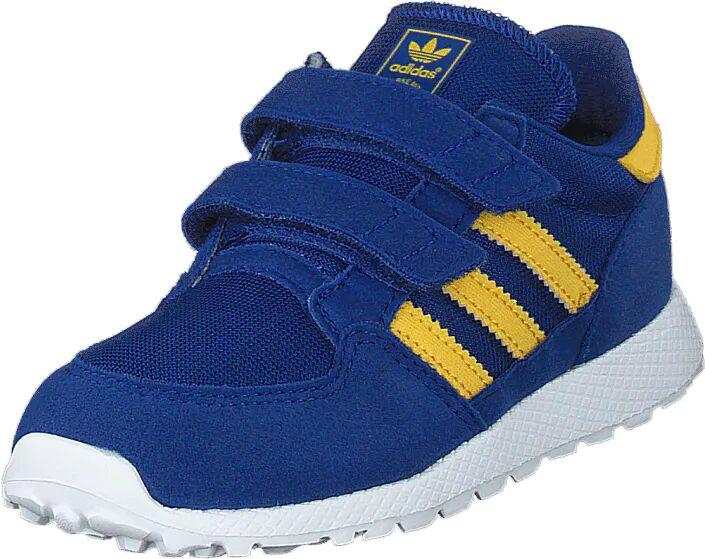 Image of Adidas Originals Forest Grove Cf I Croyal/bogold/blue, Kengät, Sneakerit ja urheilukengät, Sneakerit, Sininen, Lapset, 27