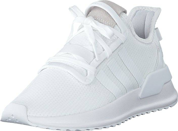 Image of Adidas Originals U_path Run J Ftwrwhite/ftwrwhite/ftwrwhite, Kengät, Sneakerit ja urheilukengät, Sneakerit, Valkoinen, Lapset, 38