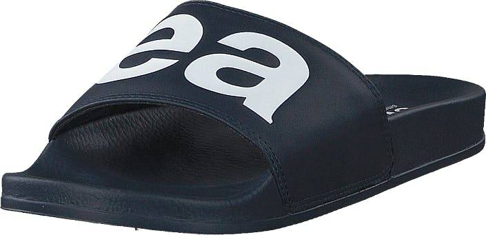 Svea Alex Logo Navy, Kengät, Sandaalit ja Tohvelit, Sandaalit, Sininen, Naiset, 36