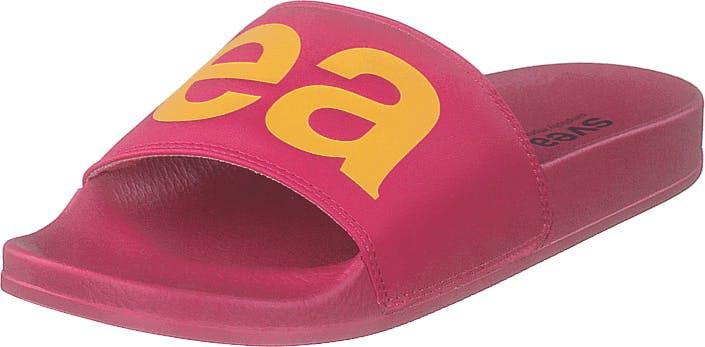 Svea Alex Logo Cerise, Kengät, Sandaalit ja Tohvelit, Sandaalit, Vaaleanpunainen, Naiset, 38