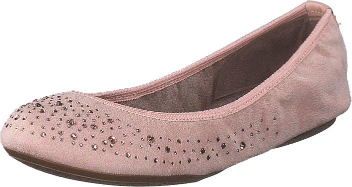Butterfly Twists Christina Blush Pink, Kengät, Matalat kengät, Ballerinat, Vaaleanpunainen, Naiset, 37