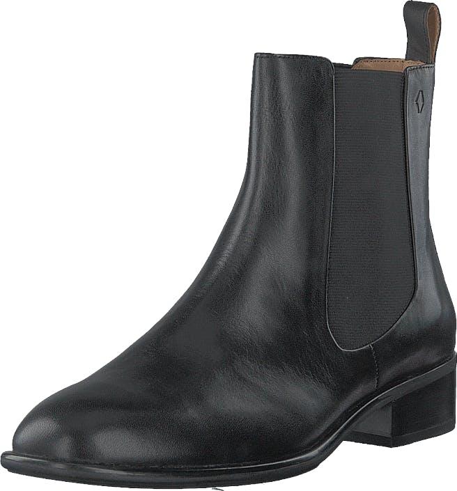 Vagabond Mira 4643-301-20 Black, Kengät, Bootsit, Chelsea boots, Musta, Naiset, 38