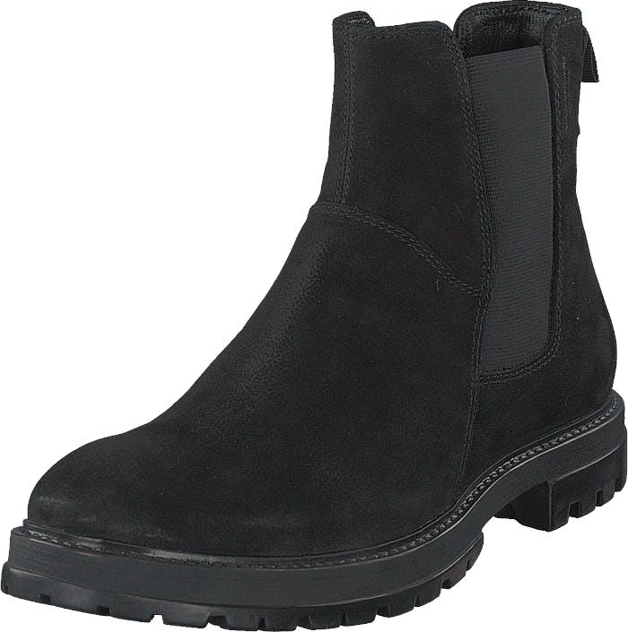 Vagabond Johnny 4679-350-20 Black, Kengät, Bootsit, Chelsea boots, Musta, Miehet, 44