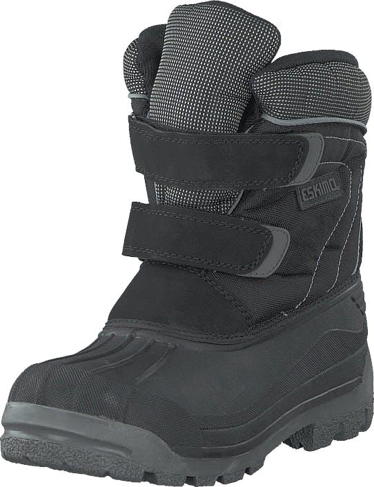 Eskimo Star Black/grey, Kengät, Bootsit, Lämminvuoriset kengät, Harmaa, Unisex, 26