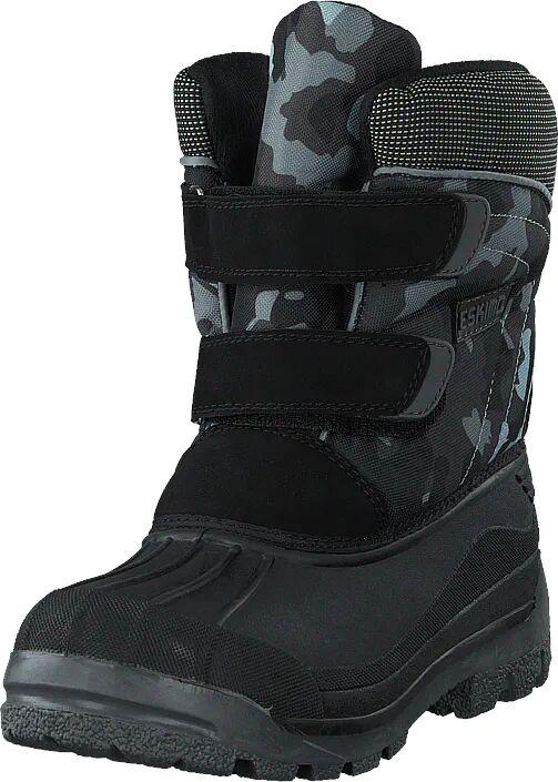 Eskimo Star Camouflage, Kengät, Bootsit, Lämminvuoriset kengät, Musta, Unisex, 39