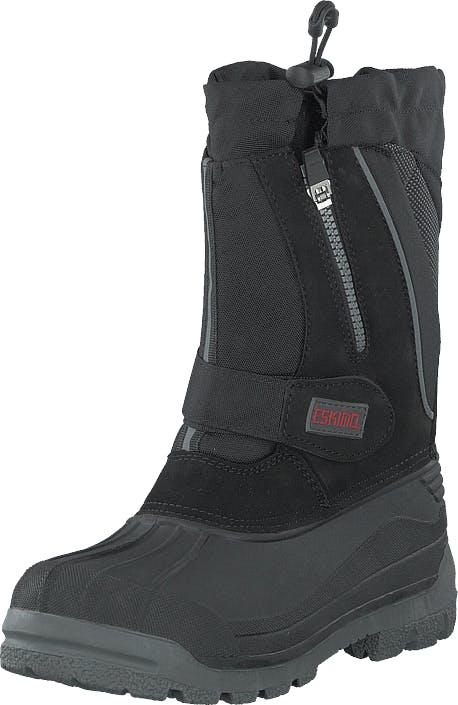Eskimo Scooter Black, Kengät, Bootsit, Lämminvuoriset kengät, Musta, Naiset, 40