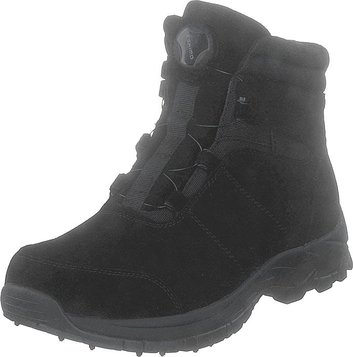 Eskimo Thrill Black, Kengät, Bootsit, Vaelluskengät, Musta, Naiset, 37