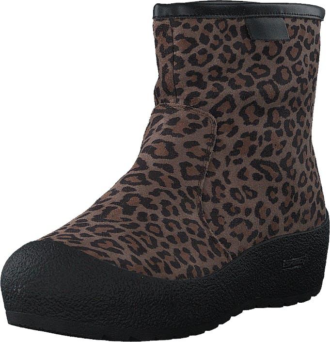 Eskimo Hermeline Leopard, Kengät, Bootsit, Chelsea boots, Ruskea, Naiset, 41