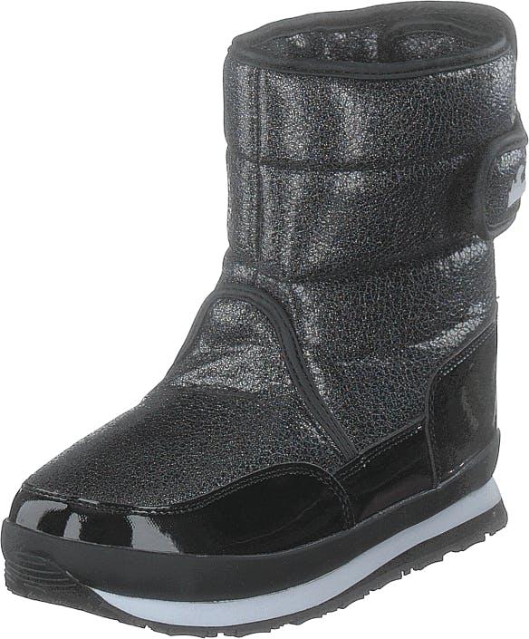 Rubber Duck Rd Glitter Kids Multi, Kengät, Bootsit, Lämminvuoriset kengät, Musta, Harmaa, Lapset, 26