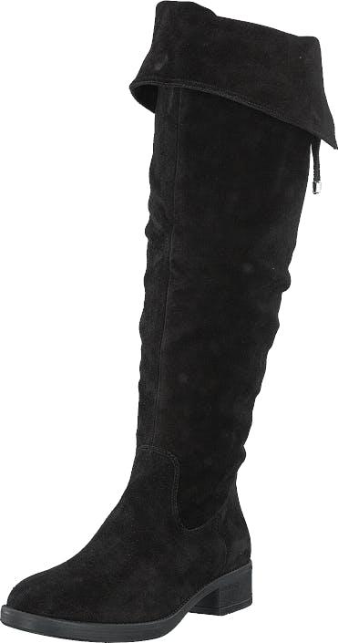 Image of Tamaris 1-1-25537-23 1 Black, Kengät, Saappaat ja saapikkaat, Korkeakorkoiset saappaat, Musta, Naiset, 37