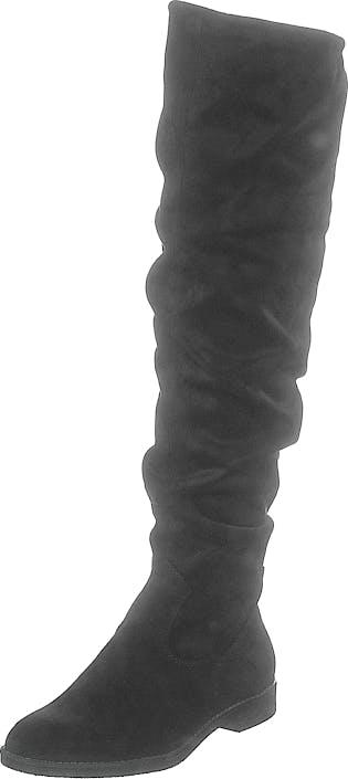 Image of Tamaris 1-1-25500-23 1 Black, Kengät, Saappaat ja Saapikkaat, Korkeakorkoiset saappaat, Musta, Naiset, 37