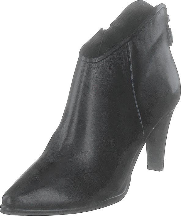 Image of Tamaris 1-1-25073-23 3 Black Leather, Kengät, Saappaat ja saapikkaat, Nilkkurit, Harmaa, Naiset, 39