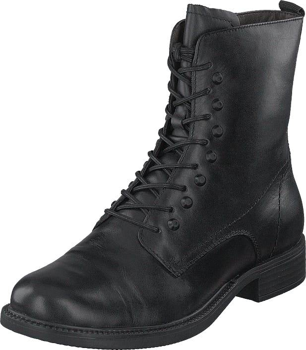 Image of Tamaris 1-1-25107-23 1 Black, Kengät, Bootsit, Korkeavartiset bootsit, Musta, Naiset, 40