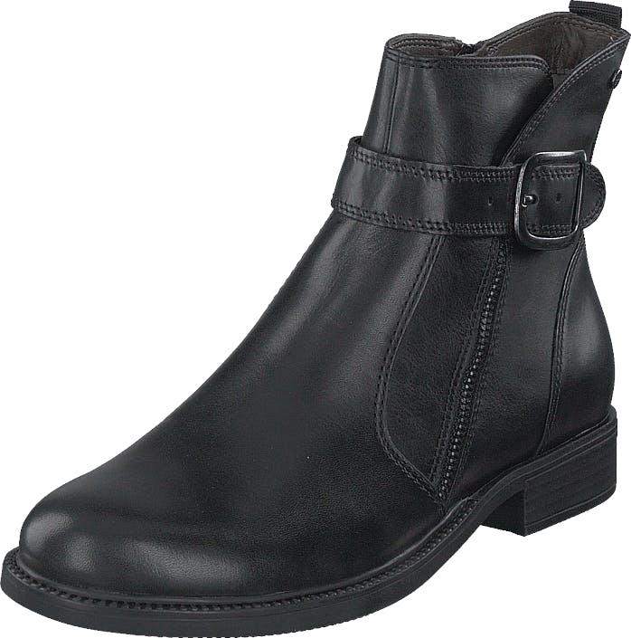 Image of Tamaris 1-1-25394-23 1 Black, Kengät, Bootsit, Korkeavartiset bootsit, Musta, Naiset, 38
