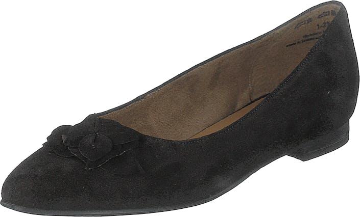 Image of Tamaris 1-1-22102-23 1 Black, Kengät, Matalapohjaiset kengät, Ballerinat, Musta, Naiset, 37