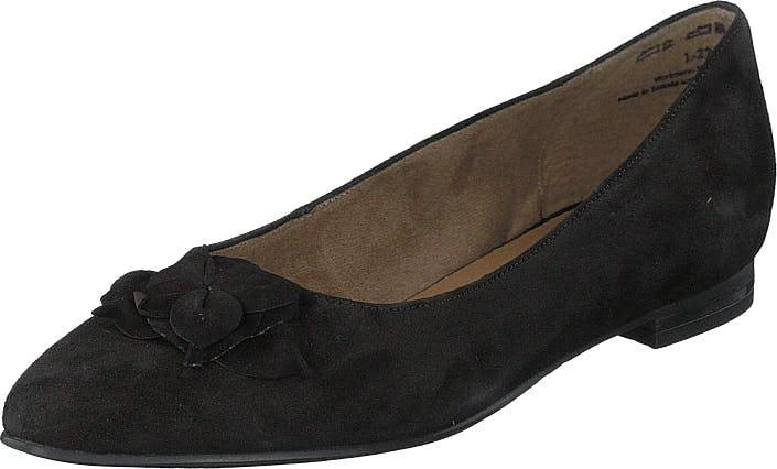 Image of Tamaris 1-1-22102-23 1 Black, Kengät, Matalat kengät, Ballerinat, Musta, Naiset, 37