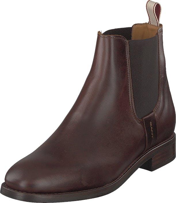 Gant Fay Chelsea G408 Sienna Brown, Kengät, Bootsit, Chelsea boots, Ruskea, Naiset, 40
