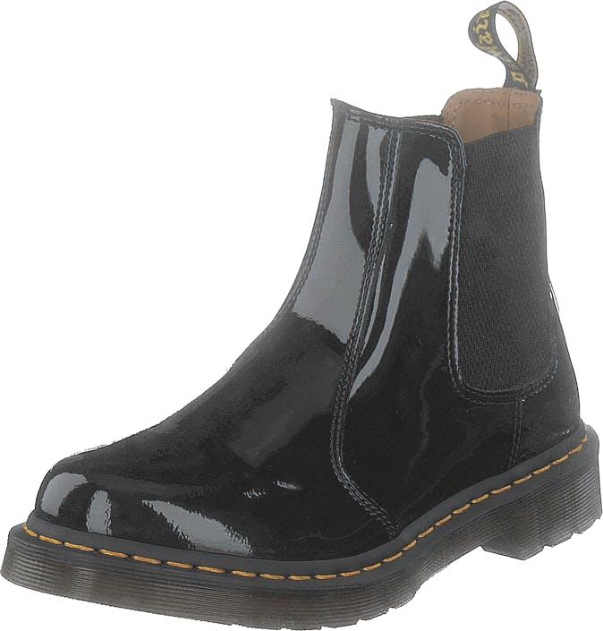 Image of Dr Martens 2976 Patent Black, Kengät, Bootsit, Chelsea boots, Musta, Naiset, 39