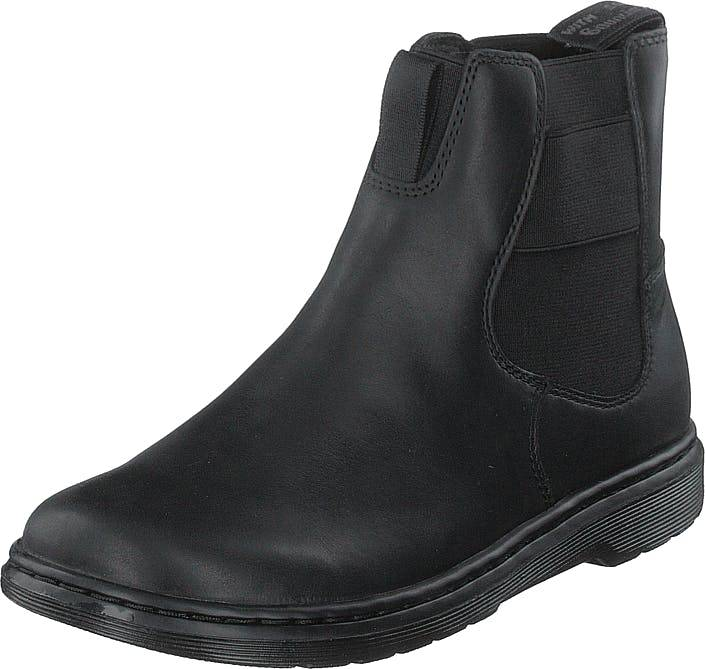 Image of Dr Martens Saffron Black, Kengät, Bootsit, Chelsea boots, Musta, Naiset, 37