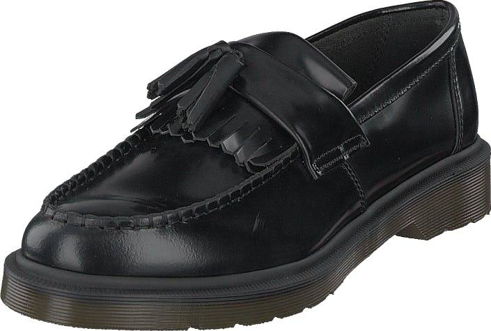 Image of Dr Martens Adrian Black, Kengät, Matalapohjaiset kengät, Juhlakengät, Musta, Unisex, 38