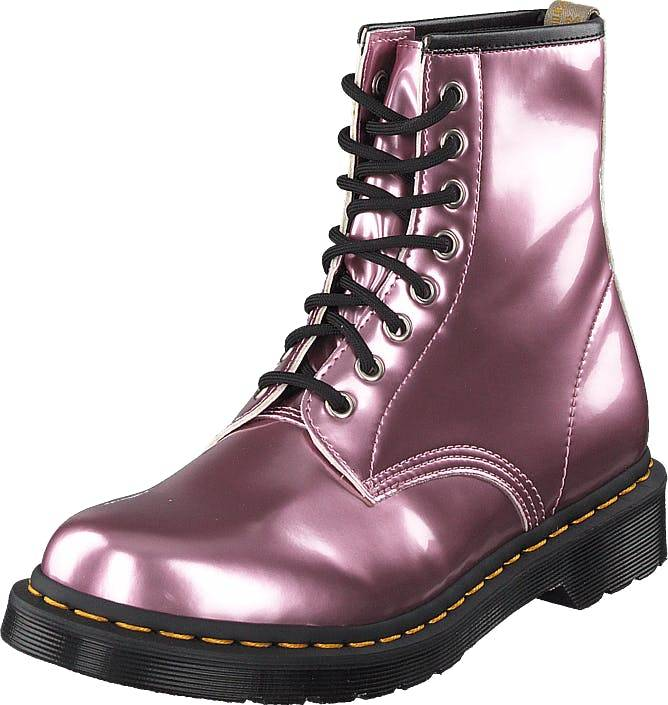 Image of Dr Martens 1460 Vegan Pink, Kengät, Bootsit, Kengät, Vaaleanpunainen, Naiset, 36