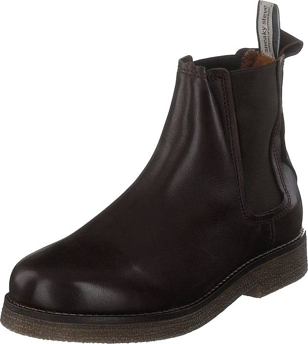 Sneaky Steve Tanner Brown, Kengät, Bootsit, Chelsea boots, Ruskea, Naiset, 37