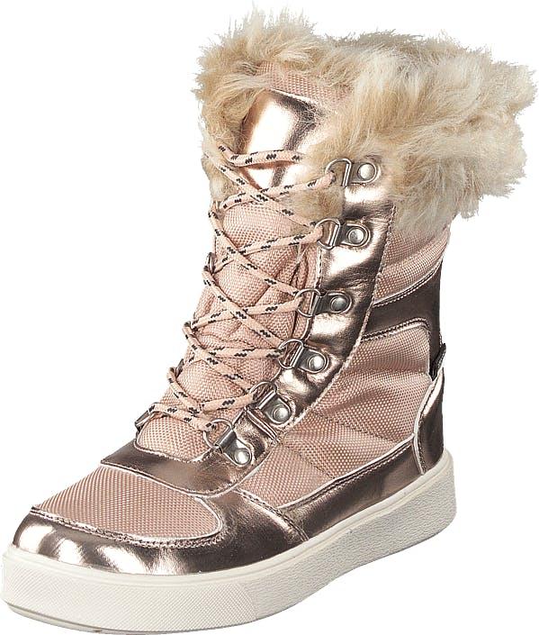 Gulliver 435-0504 Waterproof Warm Lined Rose Gold, Kengät, Bootsit, Lämminvuoriset kengät, Beige, Ruskea, Kulta, Unisex, 34